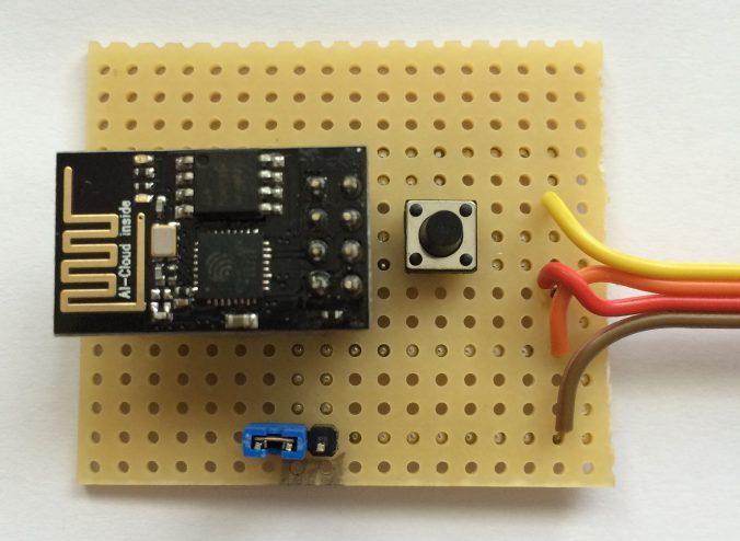 esp 01 w lan module flash board it. Black Bedroom Furniture Sets. Home Design Ideas